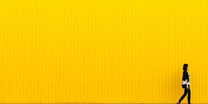 желтый цвет для креативности
